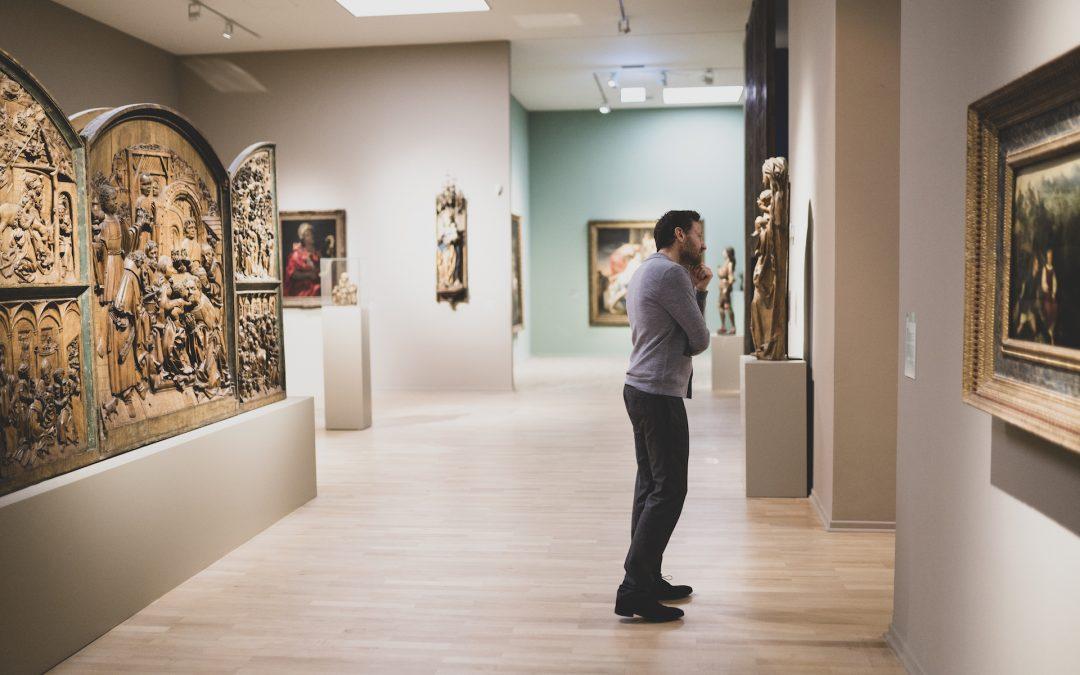 Wenn Dein Leben ein Museum wäre. Wer wirst Du gewesen sein…: wenn Du Dich am Ende Deines Lebens hier siehst?